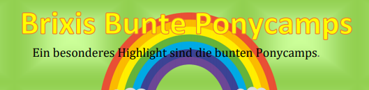 Brixis Bunte Ponywelt_Sommerbetreuung 2019