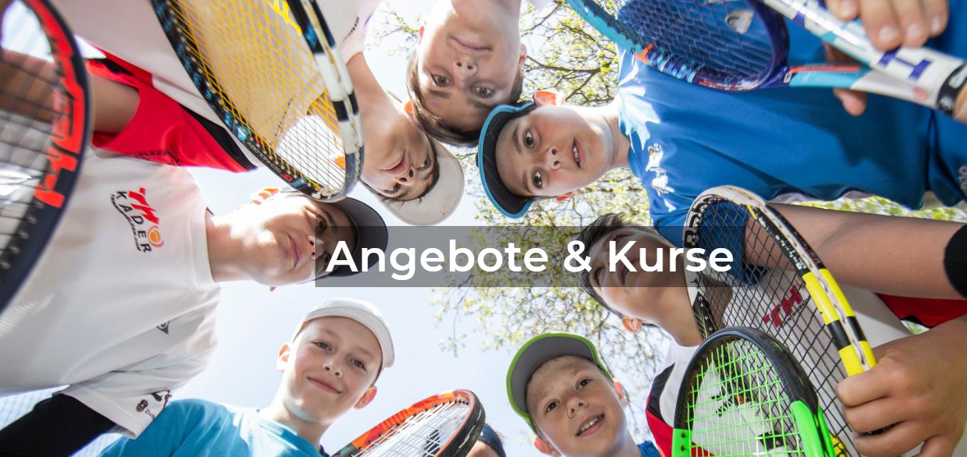 Tennis- und Abenteuerkurse