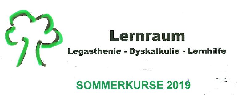 Lernraum Legasthenie – Dyskalkulie – Lernhilfe Sommerkurse
